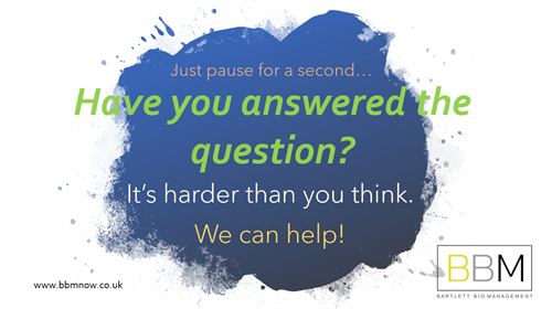 Have you Answered the Question?
