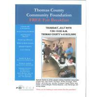 Thomas County Coalition Fair Breakfast