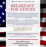Breakfast For Heroes 2019