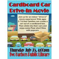 Cardboard Car Drive-In Movie