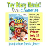 Toy Story Mania WII Challenge