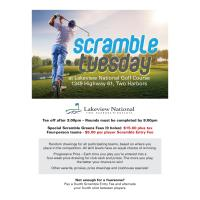 Scramble Tuesday at Lakeview National