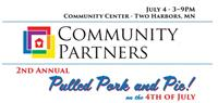 Community Partners' 2nd Annual Pulled Pork & Pie on the 4th of July!