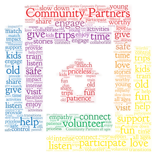 What our volunteers say about their experiences with our organization