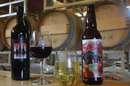 Tastings include both wines and ciders - you choose!
