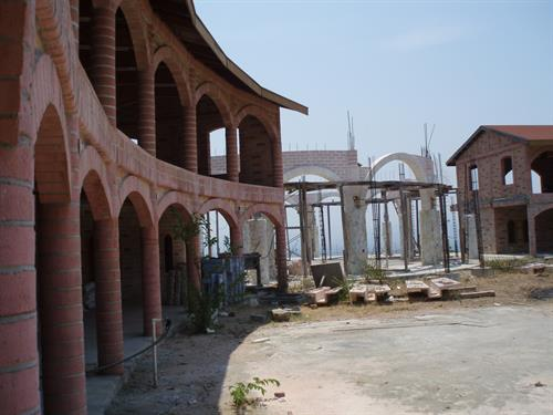 I helped lead the construction of this convent
