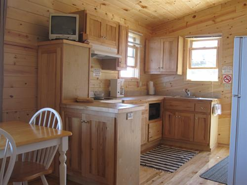 Seasonal cabin kitchen, #6