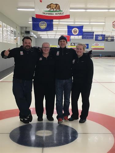Two Harbors Winter Frolic Curling Team