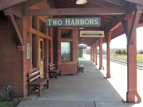 Depot Museum Platform, 520 South Ave, Two Harbors