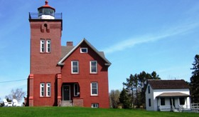 Lighthouse and Assistant Keeper's House, Two Harbors