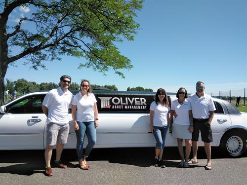 Oliver Asset Management at the Longmont Area Chamber of Commerce Golf Tournament 2018