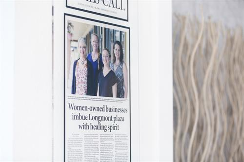 We are proud to be a locally-owned, woman-owned small business in Longmont!