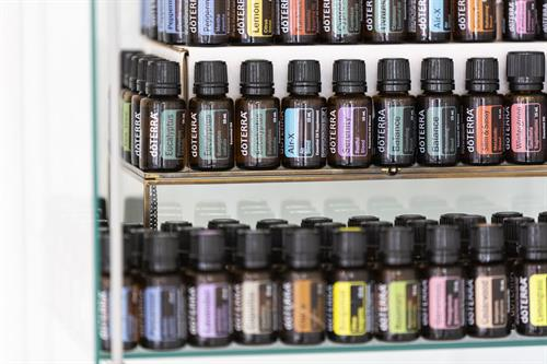 We offer complimentary high quality DoTERRA aromatherapy for your massage, bottles are also available for purchase!