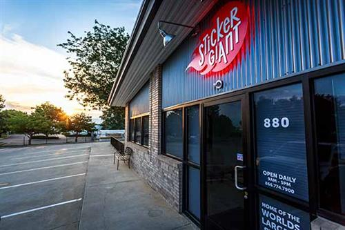 StickerGiant is located at 880 Weaver Park Road, Longmont, CO 80501