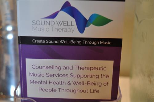 SoundWell Music Therapy provide mental health-oriented music therapy services to people of all ages.