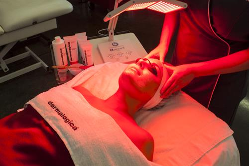 Unique services like LED Facials