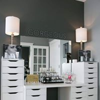 Makeup and Beauty Bar.