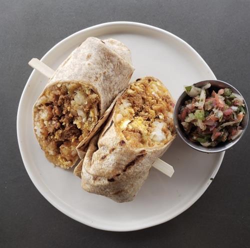 Restaurant Breakfast Burrito