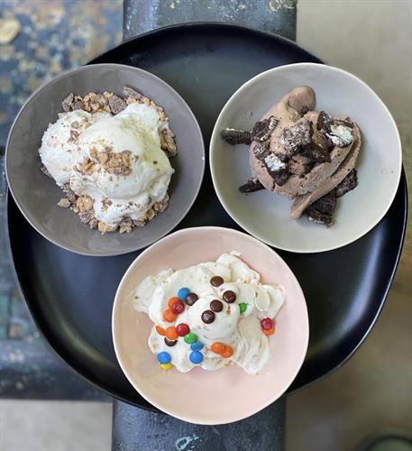 Grocery serves local Sweet Action Ice Cream