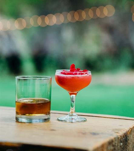 Specialty created cocktails