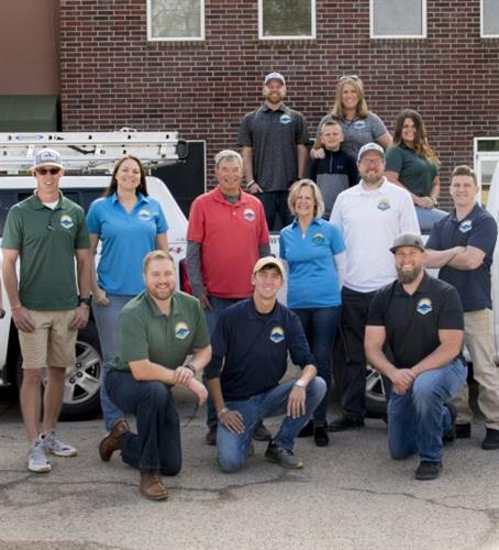 The Staff of Scott's Roofing and Solar