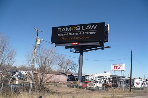 I-25/SR 119 Digital Billboard for northbound traffic