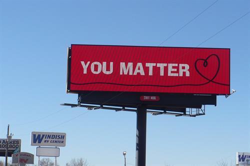 I-25/SR 119 Digital Billboard for southbound traffic