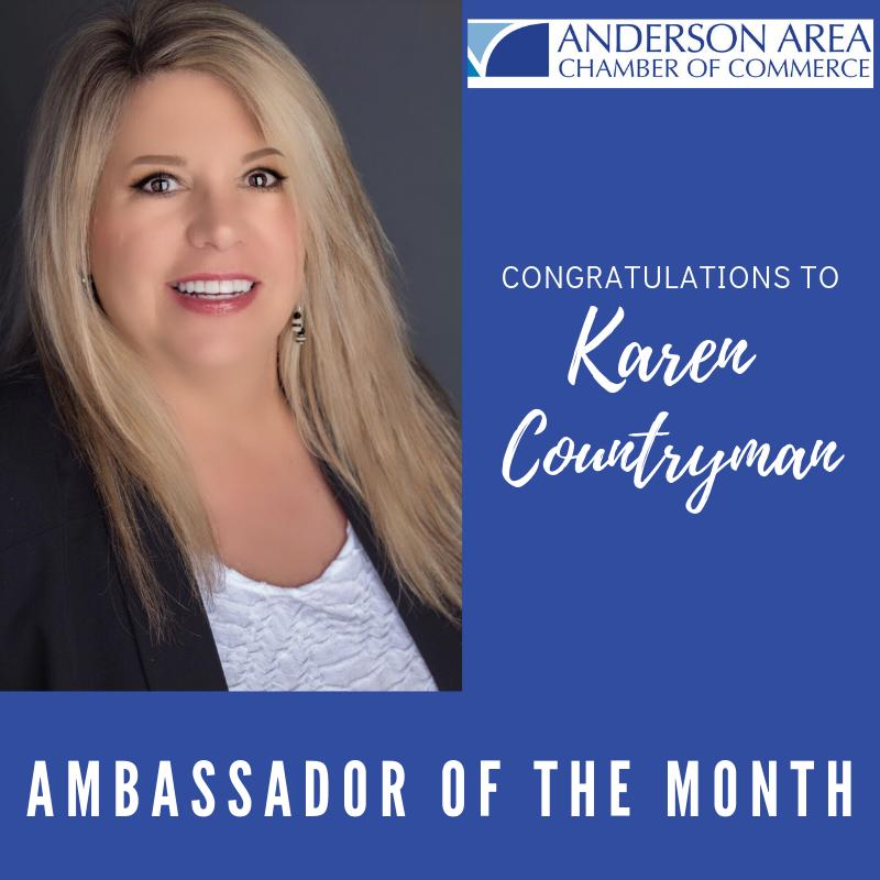 Ambassador of the Month- Karen Countryman