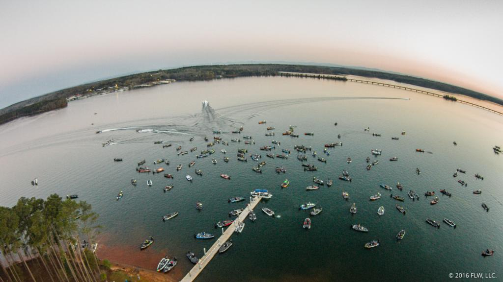 FLW SET FOR RETURN TO LAKE HARTWELL WITH TWO-DAY T-H MARINE FLW BASS FISHING LEAGUE EVENT
