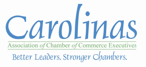 Carolinas Association of Chamber of Commerce Executives (CACCE) Names 2020 Board of Directors