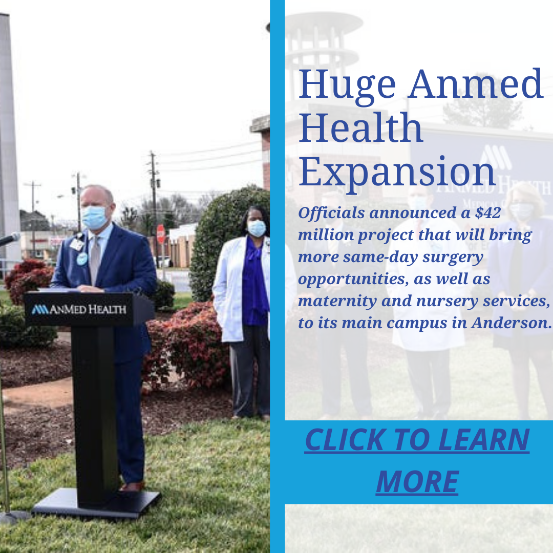 AnMed Health Announces $42 Million Expansion and New Leadership Member
