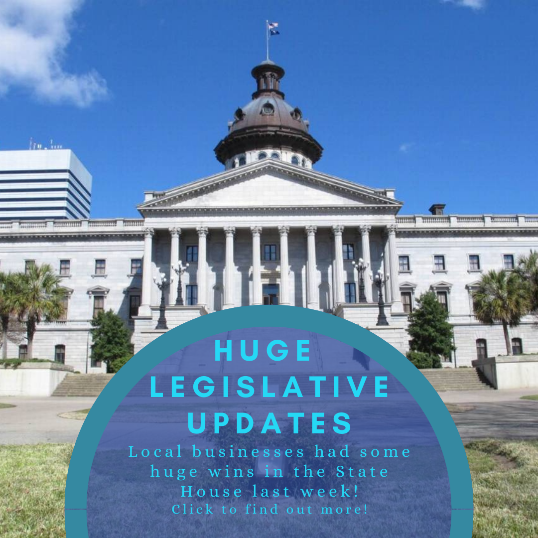 Update on Laws making their way through SC State House