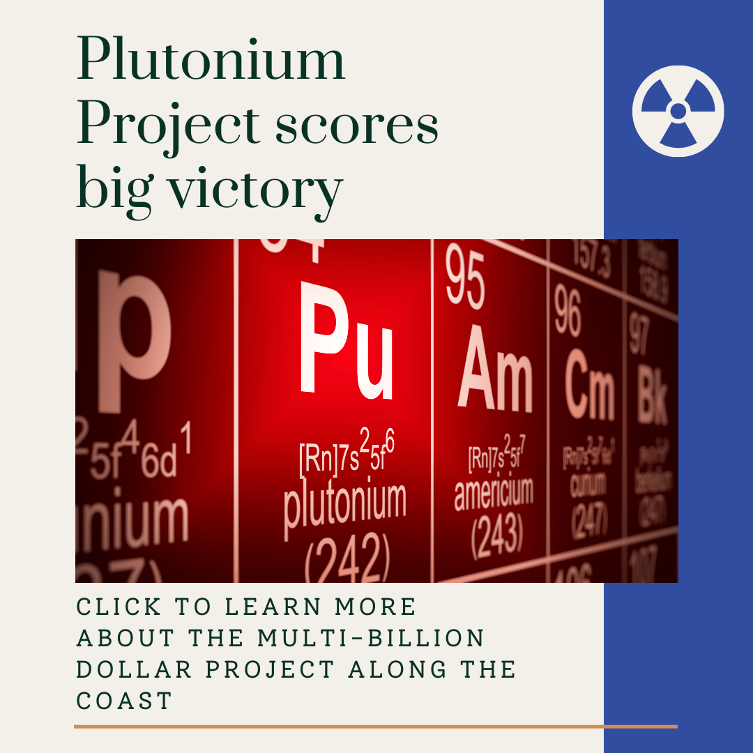 Image for Plutonium Pit Project at the Savannah River Site Moves Forward