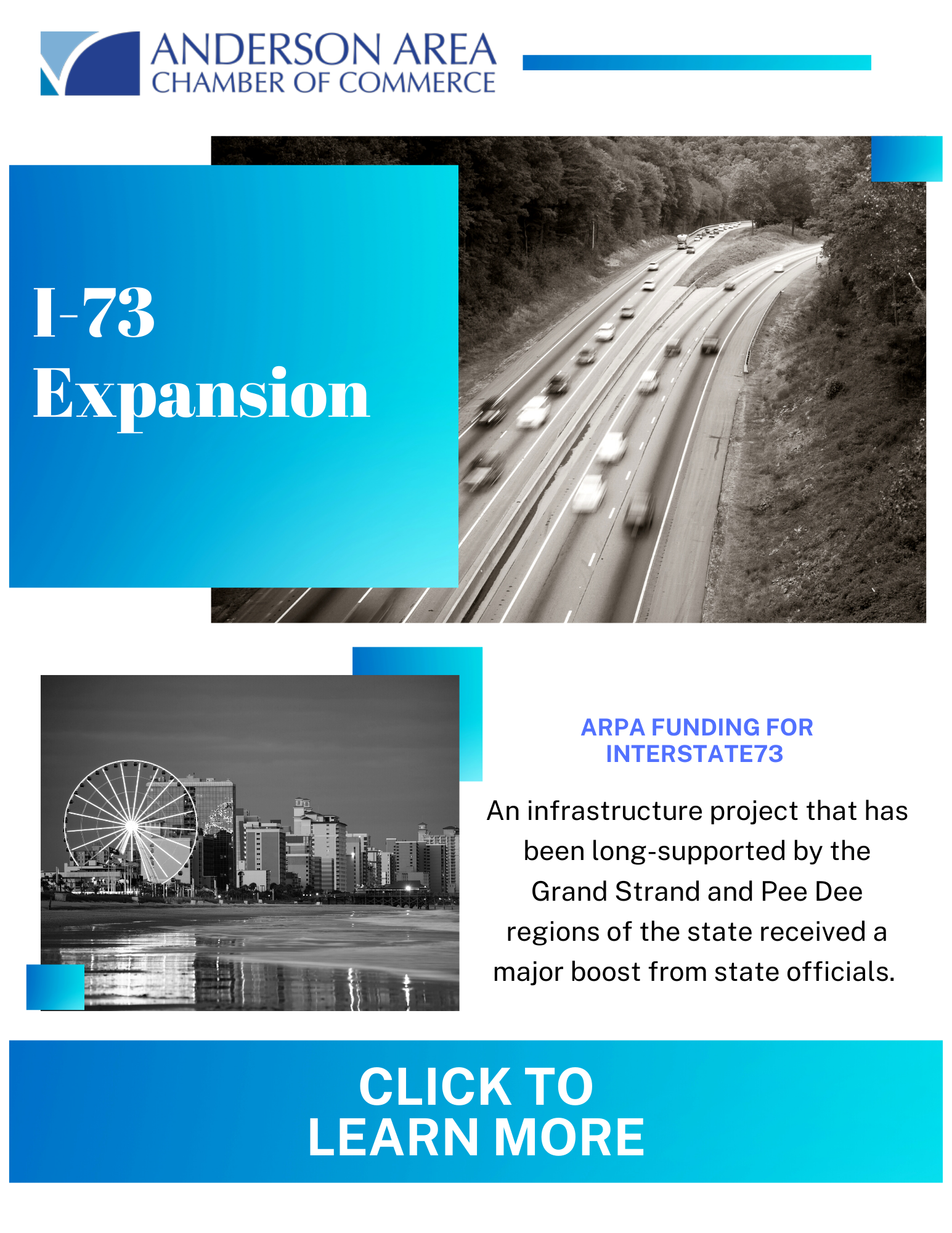 Image for Governor Announces Support for I-73 Expansion