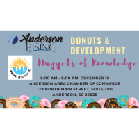 Anderson Rising Donuts & Development - Nuggets of Knowledge and Recipes for Entrepreneurial Success
