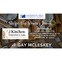 Electric City Women's Brunch featuring Gay McLeskey