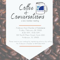 Coffee & Conversations: A New Member Meeting - February 2020