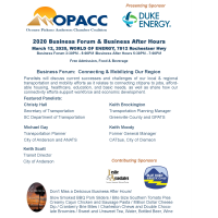 2020 OPACC Economic Forum & Business After Hours
