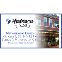 Anderson Rising Networking Lunch - October 2019