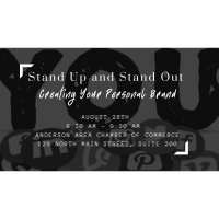Seminar: Stand Up and Stand Out - Creating Your Personal Brand with Anissa Starnes