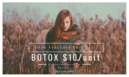 Fall BOTOX sale