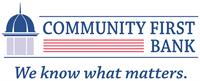 Community First Bank - Anderson