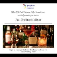 Fall Business Mixer 2018