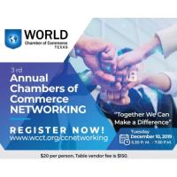 Supporting Event: 3RD ANNUAL CHAMBERS OF COMMERCE NETWORKING EVENT