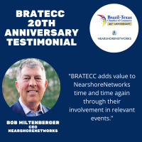 BRATECC 20th Anniversary Testimonial | Bob Miltenberger, NearshoreNetworks