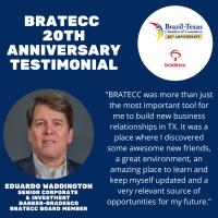 BRATECC 20th Anniversary Testimonial | Eduardo Waddington, Bradesco