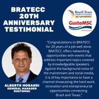 BRATECC 20th Anniversary Testimonial | Alberto Morandi, GustoMSC