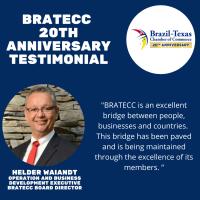 BRATECC 20th Anniversary Testimonial | Helder Waiandt, Swot Action