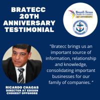 BRATECC 20th Anniversary Testimonial | Ricardo Chagas, Edison Chouest Offshore