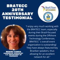 BRATECC 20th Anniversary Testimonial | Regina Cunha, U.S. Department of Commerce